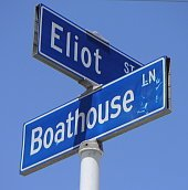 Boathouse Lane street sign